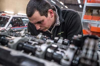 conception et fabrication pistons moteurs forgés LORRTEC motoriste