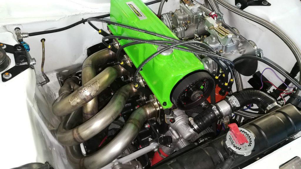 Escort RS2000 avec moteur Ford Pinto VHC LORRTEC