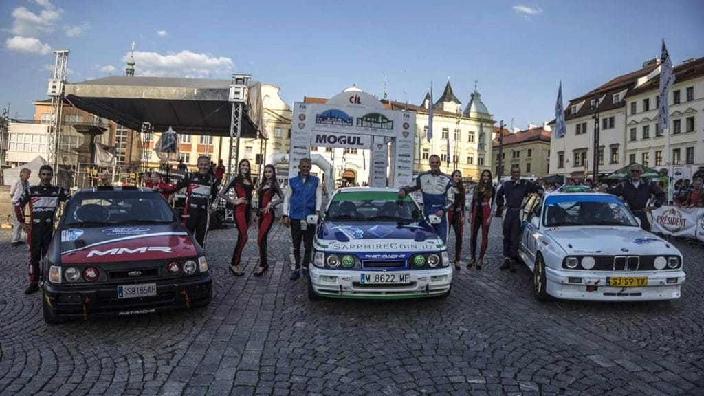 Sierra Cosworth M3 E30 2018 Historic Vltava Rallye