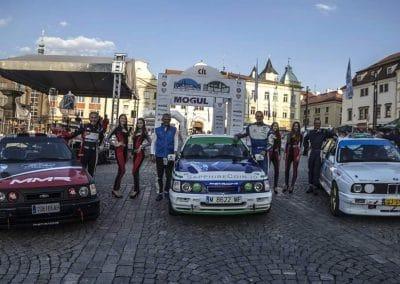 Sierra Cosworth M3 et E30 2018 Historic Vltava Rallye