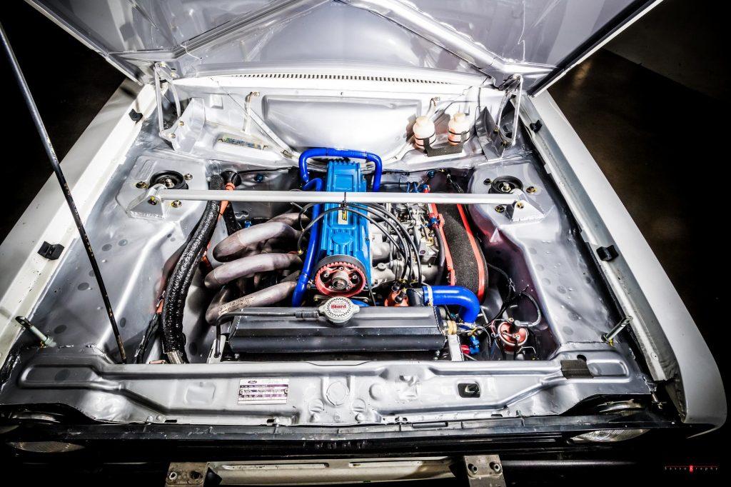 Escort RS2000-avec moteur Ford Pinto groupe 4 LORRTEC