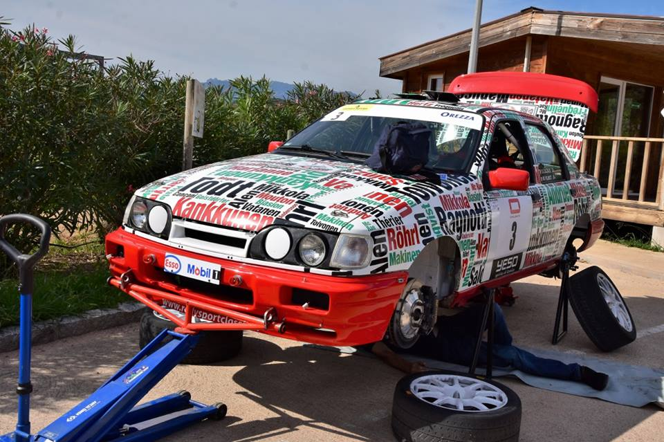 sierra cosworth groupe  avec moteur ford yb lorrtec serge