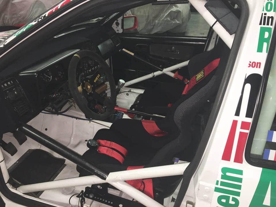 intérieur Sierra Cosworth groupe A