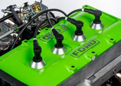 photo détail du couvre culasse d'un moteur Ford BDG