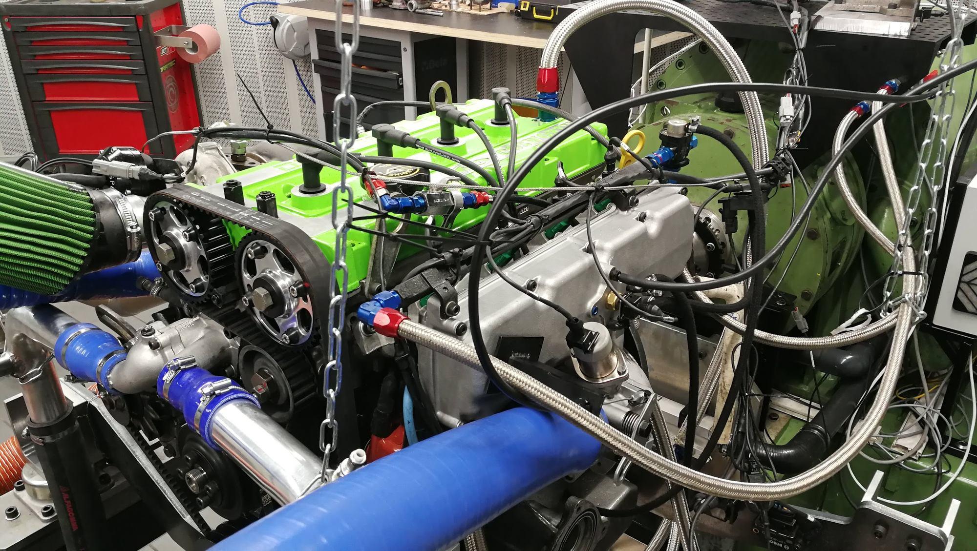 passage au banc moteur Ford Cosworth YB - LORRTEC