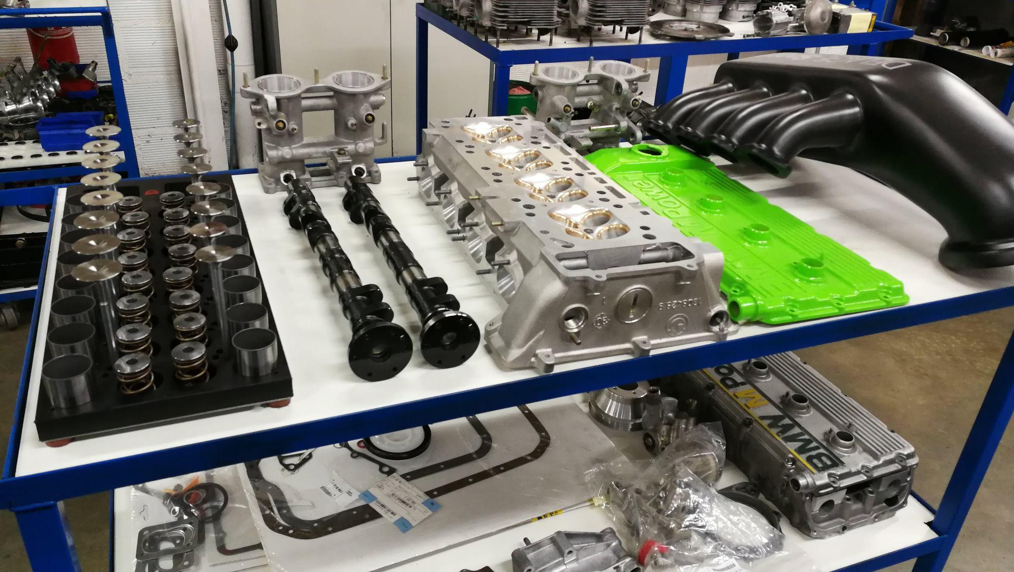 pièces moteur : soupapes, Arbres à cames, ressorts, culasse BMW S14 M3 E30