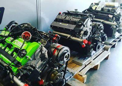Plusieurs moteurs de S14 M3 E30 groupe A prêts à livrer