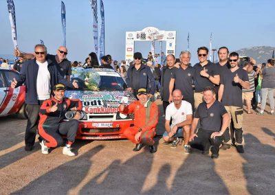 Serge Cazaux Sierra Cosworth 4x4 groupe A vainqueur Tour de Corse historique avec assistance LORRTEC