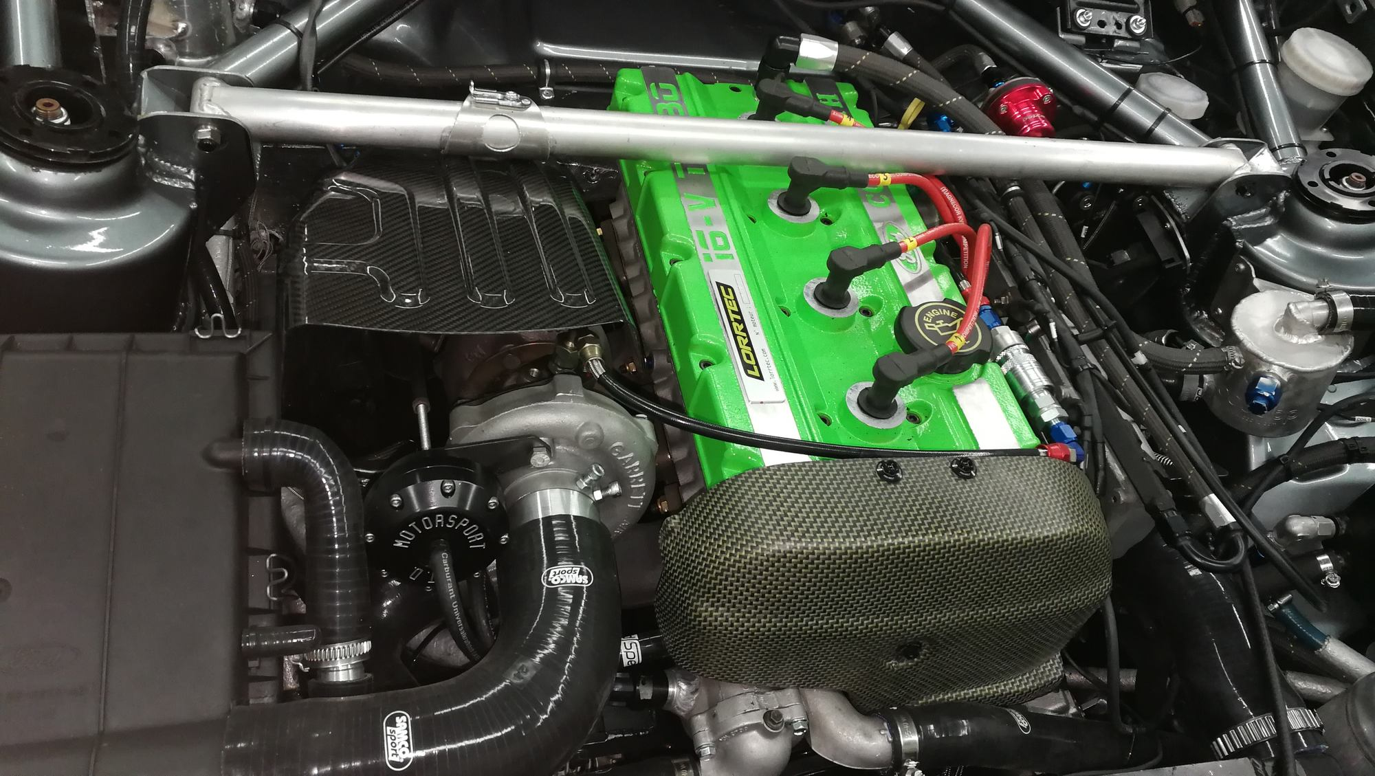 Sierra cosworth avec moteur ford YB groupe A by lorrtec